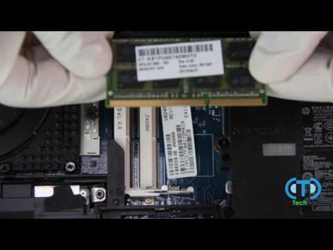 How to Upgrade RAM in Your HP Laptop