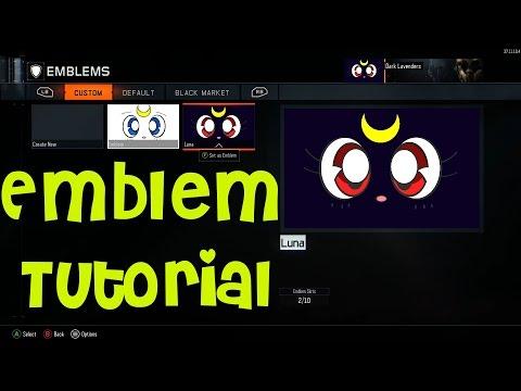 Black Ops 3: Luna/Artemis Emblem Tutorial (EASY)