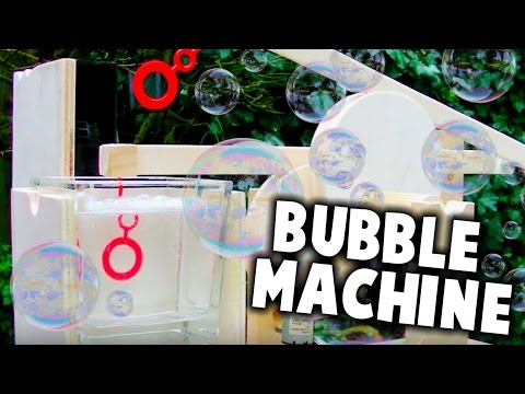 Currently The Best Homemade Bubble Machine On Youtube?