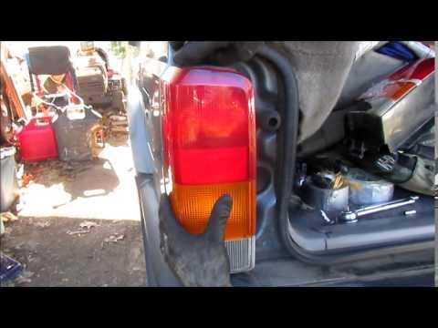 1997 Jeep Cherokee Tail Light replacment