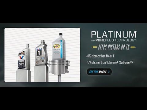 OIl Change with Pennzoil Platinum Full Synthetic Motor Oil