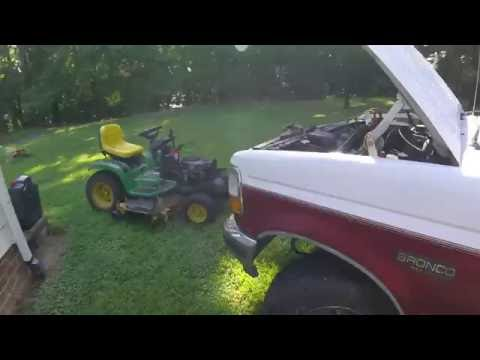 How to Jump Start a Lawn Tractor!