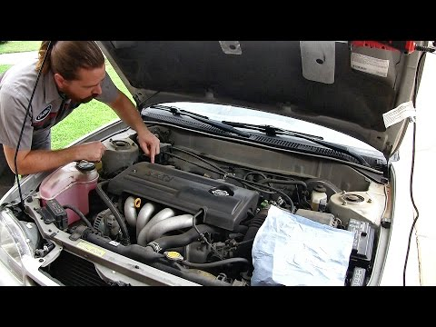 Toyota Corolla 1998 - 2002 Hesitation Fix (Detailed Spark Plug Change and MAF Cleaning)