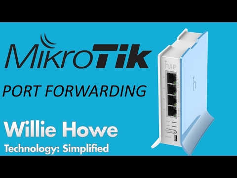 MikroTik Port Forwarding