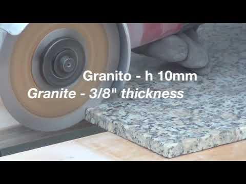 """Diamond blade ideal for gres porcelain  CGX115 """"Freccia Oro"""""""