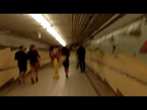 Jersey City, New Jersey - Newport PATH Station Hyperlapse HD (2014)