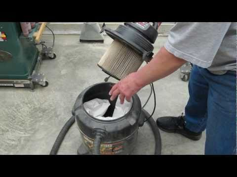 Shop Vac Filters - How To Improve Performance