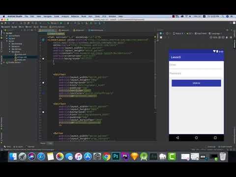 create simple login android app