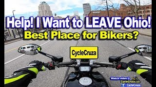 Download I Want To LEAVE Ohio! Best Place to Live for Motorcycle? HELP ME CHOOSE! | MotoVlog Video