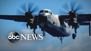 US Navy plane crashes into Pacific