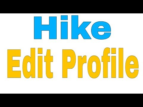 How To Edit Hike Account Profile || Change Name , Username Gender And Other