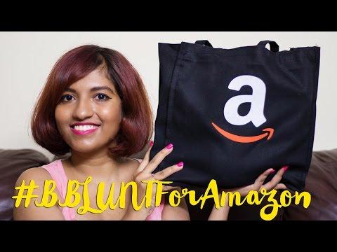 Amazon India + BBLUNT Goody Bag Unboxing! #BBLUNTForAmazon // Magali Vaz
