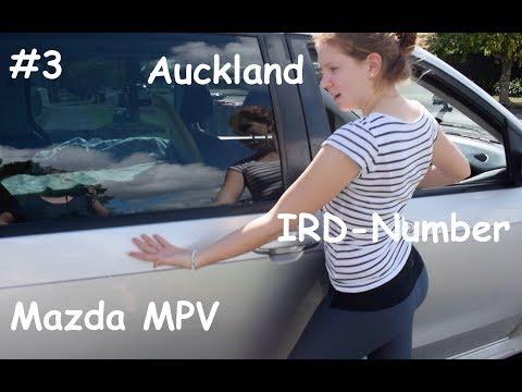 #3 - Auckland, Neuseeland - Auto kaufen Mazda MPV, clever packen, IRD-Number beantragen