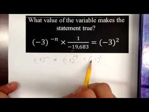 Solving  equation with negative exponents