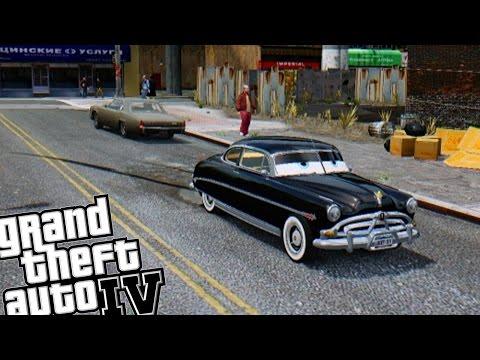 GTA IV - Disney Cars Doc Hudson Hornet
