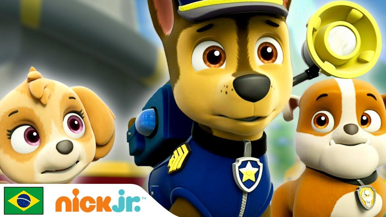 Paw Patrol | Patrulha Canina sempre ajudando! 🐾 | Nick Jr.