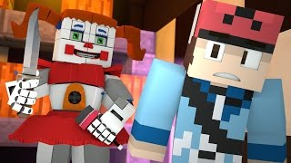 Minecraft FNAF Sister Location HIDE AND SEEK - BABY WON THE GAME! (Minecraft Roleplay)
