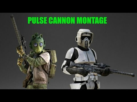 Pulse Cannon Montage! - Battlefront