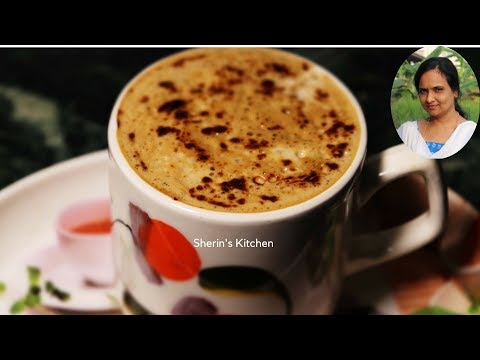 How To Make Cappuccino Without Machine | Indian Beaten Coffee | Sherin's Kitchen