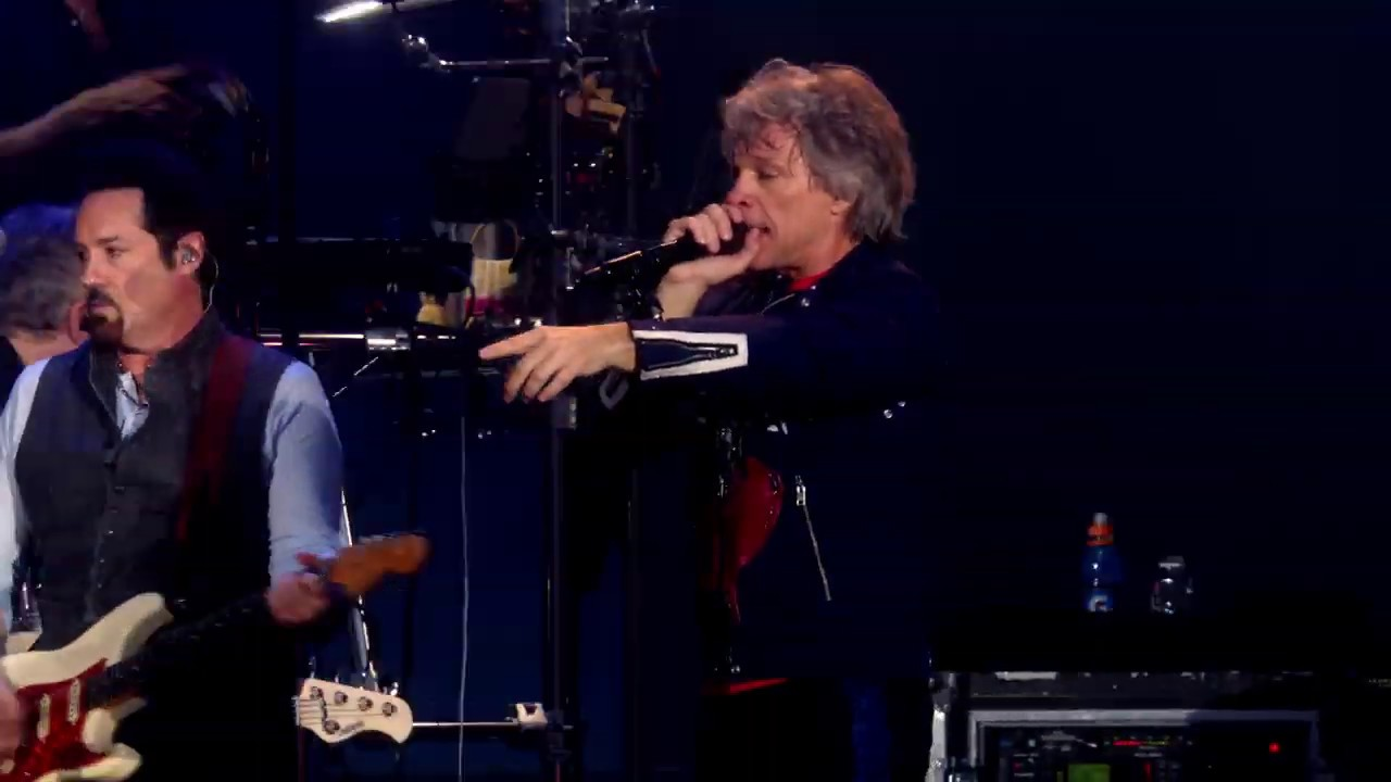 Bon Jovi: Born To Be My Baby -  from Moscow (May 31, 2019)