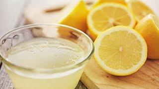 Lemons Hack For Joint Pain