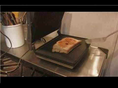 Cooking & Culinary Tips : How to Use a Panini Press