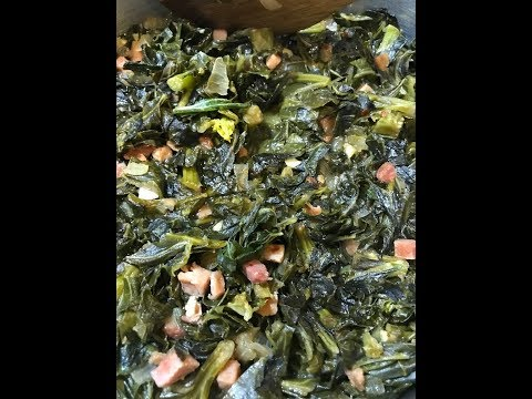 Simple Southern Style Collard Greens - How to Cook the Best Collard Greens