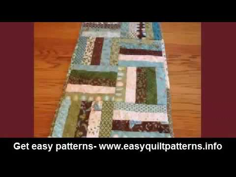 simple quilting stitch designs rail fence quilt block easy