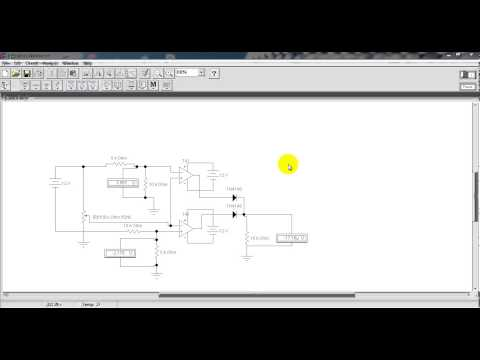 Video Clips Unit 4. Windows Comparator Circuit of the op amp.