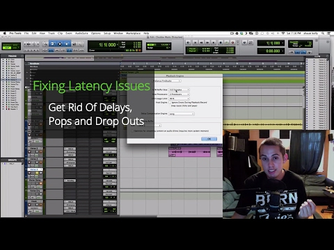 Fixing Latency Issues - Get rid of delays, pops, and drop outs during recording