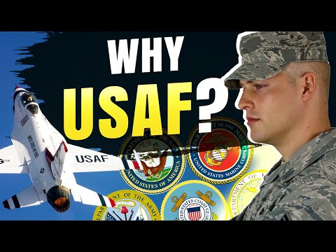 Joining the Military   Why I joined the Air Force over other branches