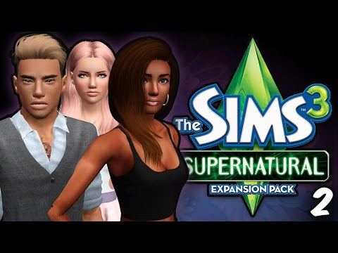 Sims 3 || Let's Play: Supernatural [Part 2] - Fairy House!
