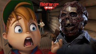 JASON HAS NO MERCY FOR CHIPMUNKS || Friday the 13th The game w/ Calvin aka Fruit Snacks