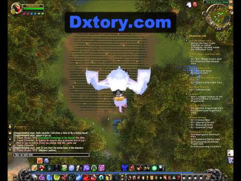 World of Warcraft: Mists of Pandaria - Turorial: How to Fly a Flying Mount