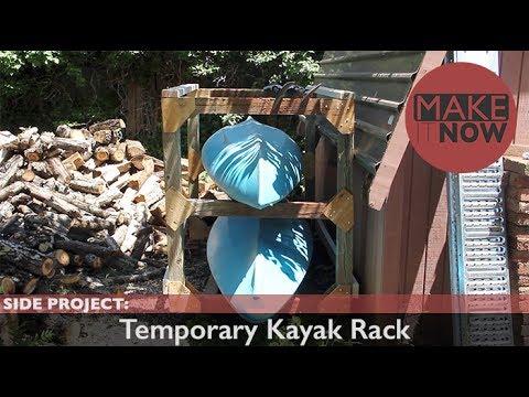 Side Project: Temporary Kayak Rack
