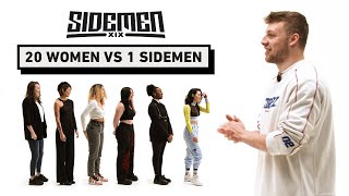 20 WOMEN VS 1 SIDEMEN: HARRY EDITION