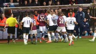Aston Villa 1-2 Tottenham 2/11/14 All Goals Highlights (Fight)