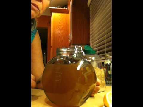 Janet's Water Kefir Instructions -- First Ferment