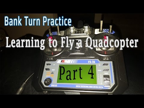 Learning to Fly a Quadcopter | Level 1 | Part 4 Bank Turns Simulator