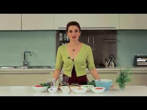 Healthy Recipe - Chickpea and Pesto Salad