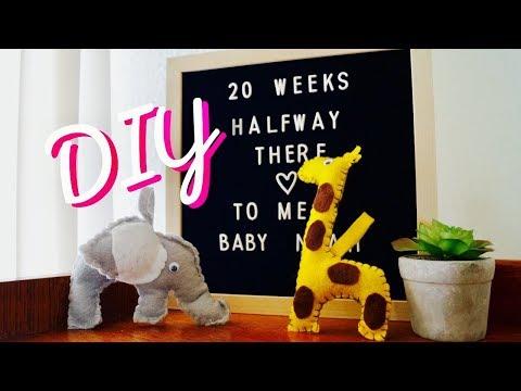 Pregnant in School? + Nursery DIY + Giveaway Winner!