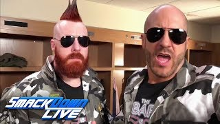 Sheamus & Cesaro are coming to SmackDown LIVE: April 17, 2018