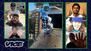 Quarantine Skate Competition Judged by Pros   Can You Skate It? (At Home)
