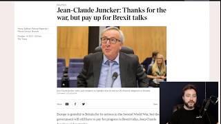 Juncker in a Bar