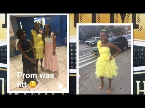 Vlog 5 (Grwm for MY FIFTH GRADE PROM 🤤)~BeautybyDelores