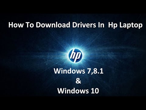 How To Download Drivers For HP Elitebook Windows 10 Using SlimDrivers