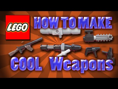 How To Make Cool Lego Weapons Part 2