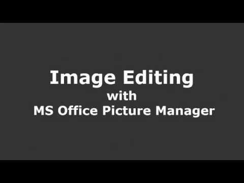 Edit Images with MS Office Picture Manager