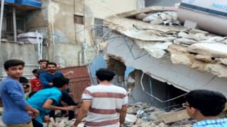 Several MQM offices demolished in Karachi