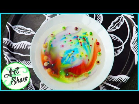 Art with Skittles and Sprinkles | Fatema's Art Show